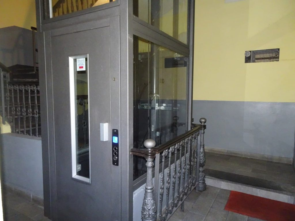 ascensore vano interno